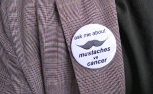Mustaches vs. Cancer: Week 3
