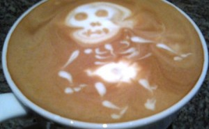 Art In My Coffee (Well, Your Coffee)