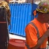 Construction Worker Serenades City